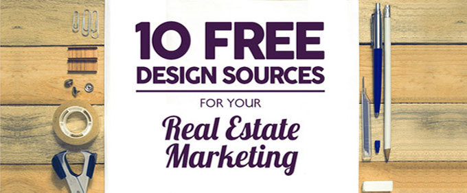 10 Free Design Sources for Your Real Estate Marketing
