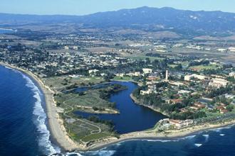 Goleta aerial view