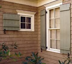 Wood Shutters Exterior Your Choice For Exterior Shutters  Rot Or Not To Rot