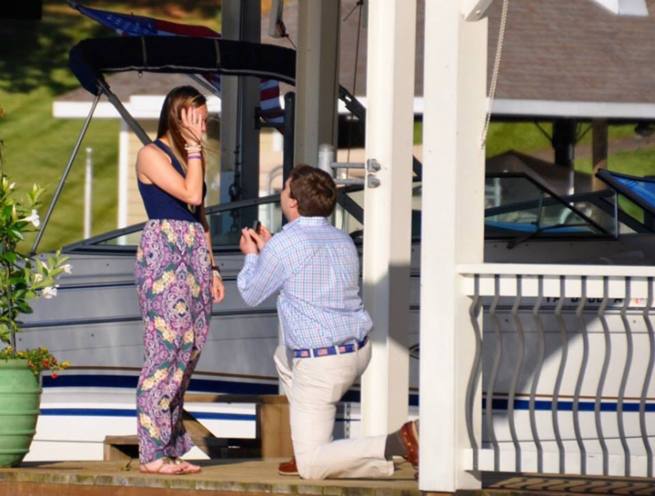 Franklin County guy propose to women - Jane At the lake