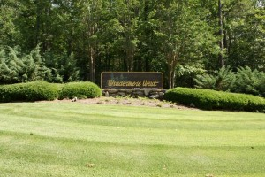 A Russell Lands develompent, Windermere West on Lake Martin