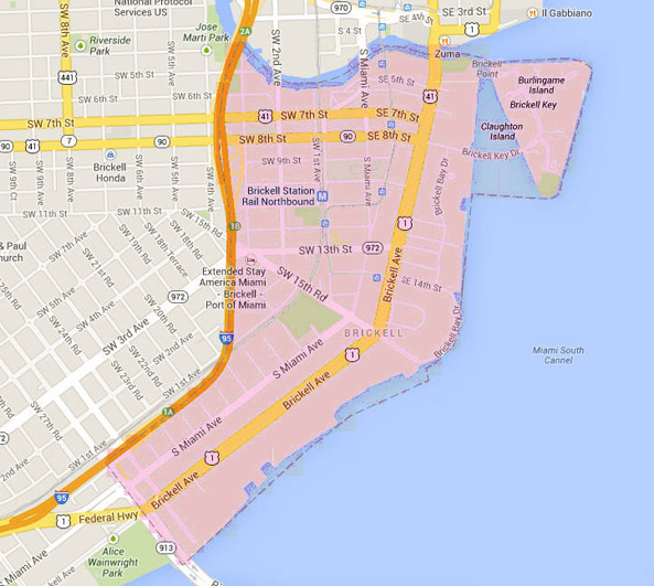 Brickell map