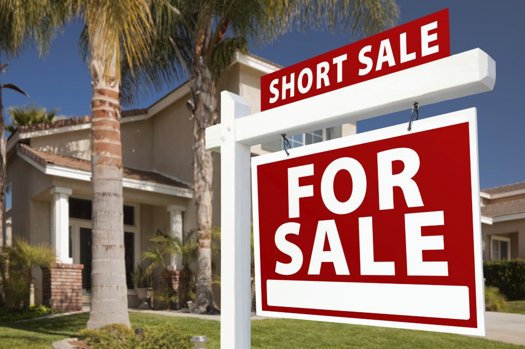 for sale short sale sign