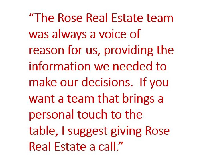 Rose Real Estate referral